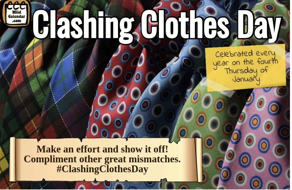Clashing clothes